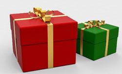 Cadeaux en nature, en espèces ou sous forme de bons de paiement